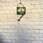 Canal Art (Barge Art) Watering Can Sun Catcher
